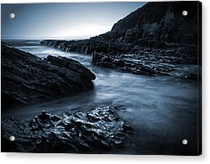 Smooth And Jagged Acrylic Print
