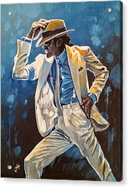 Smooth Criminal Acrylic Print by Jennifer Hotai