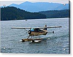 Smooth Landing On Lake Coeur D'alene Acrylic Print