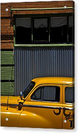 Smooth Operator Acrylic Print by Skip Hunt