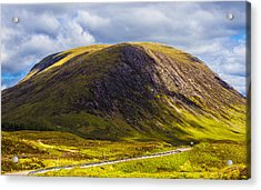 Acrylic Print featuring the photograph Smooth-top Mountain by Steven Ainsworth