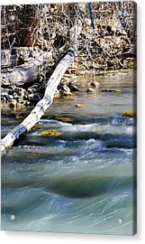 Smooth Water Acrylic Print