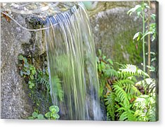 Acrylic Print featuring the photograph Smooth Water by Raphael Lopez