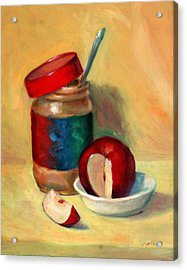 Snack Time Acrylic Print by Athena Mantle