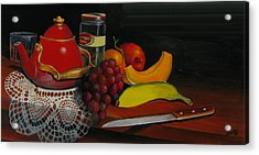 Snack Time Acrylic Print by Robert Carver
