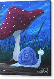 Snail Elliot Acrylic Print