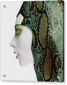 Snake Eyes Acrylic Print by Bert Stern