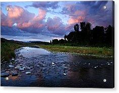 Snake River Acrylic Print by Eric Foltz