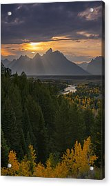 Snake River Sunset Acrylic Print