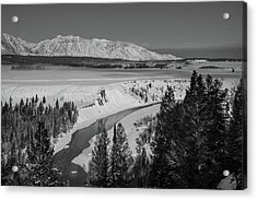 Snake River View Acrylic Print