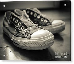 Acrylic Print featuring the photograph Sneakers by Edward Fielding