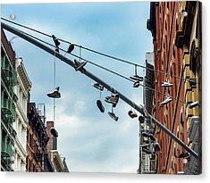 Sneakers From Up Above Acrylic Print