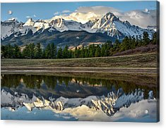 Sneffels Reflected Acrylic Print