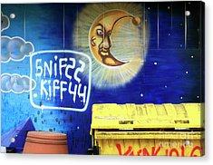 Snif Kiff Acrylic Print by John Rizzuto
