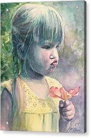 Sniff Acrylic Print