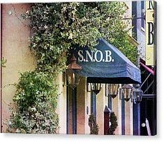 Snob Acrylic Print