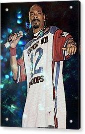 Snoop Dogg Acrylic Print by Ericamaxine Price