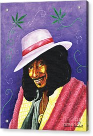 Snoop Dogg Acrylic Print by Kristi L Randall