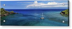 Acrylic Print featuring the photograph Snorkeling In Maui by James Eddy