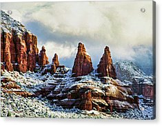 Snow 04-002 Acrylic Print by Scott McAllister