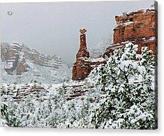 Snow 06-027 Acrylic Print