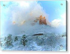 Snow 07-104 Acrylic Print by Scott McAllister