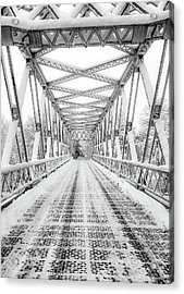 Acrylic Print featuring the photograph Snow Angles by Kendall McKernon