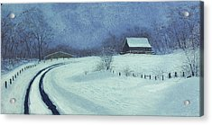 Snow Bound Acrylic Print by Garry McMichael