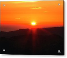 Acrylic Print featuring the photograph Snow Camp View 2 by Leland D Howard