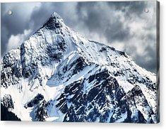 Snow Cap Acrylic Print by Naman Imagery