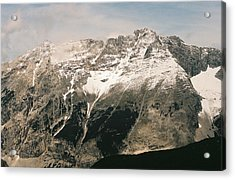Snow Capped Austrian Summer Acrylic Print by Patrick Murphy