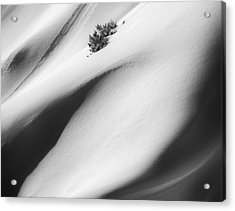 Snow Drift Acrylic Print by Joseph Smith
