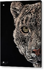 Snow Eye Acrylic Print