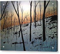 Snow Hill Acrylic Print