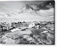 Snow In Glencoe Acrylic Print