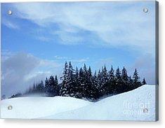 Snow Light Acrylic Print