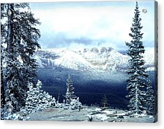Snow On The High Uintas Acrylic Print