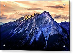Acrylic Print featuring the photograph Mount Cascade by John Poon