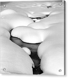 Snow Pillows Acrylic Print by James Rasmusson