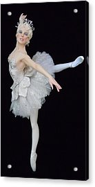 Snow Queen Acrylic Print by Vickie Arentz