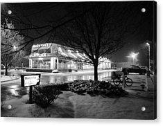 Snow Surprise Acrylic Print