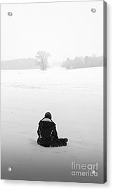Acrylic Print featuring the photograph Snow Wonder by Brian Jones