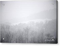 Snowbound Acrylic Print by John Stephens