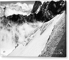 Snowdown Acrylic Print