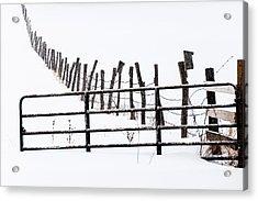 Snowfield Entry - Acrylic Print