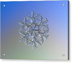 Snowflake Photo - Gardener's Dream Alternate Acrylic Print