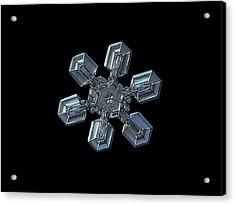Snowflake Photo - High Voltage II Acrylic Print by Alexey Kljatov