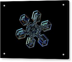 Snowflake Photo - High Voltage IIi Acrylic Print