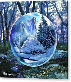 Snowglobular Acrylic Print