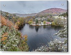 Acrylic Print featuring the photograph Snowliage by Bill Wakeley